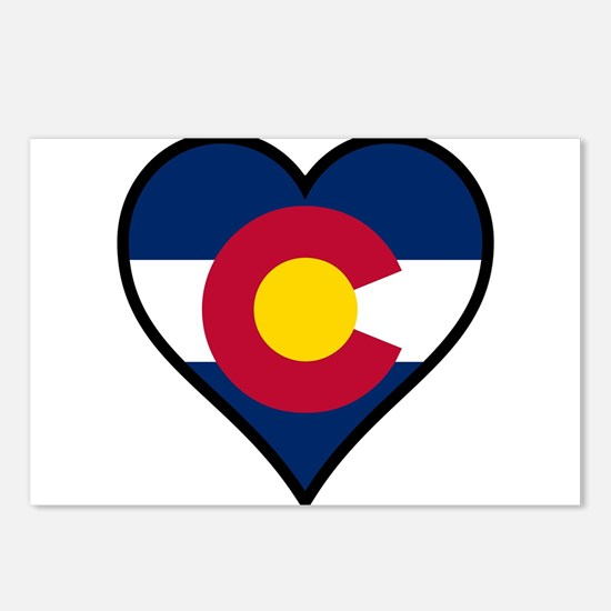 Love Colorado Postcards (Package of 8)
