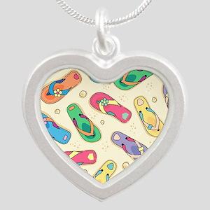 Colorful Flip Flops Necklaces