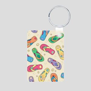 Colorful Flip Flops Keychains