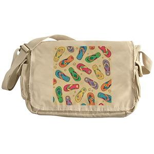 04611e9d45caeb Pattern Messenger Bags - CafePress