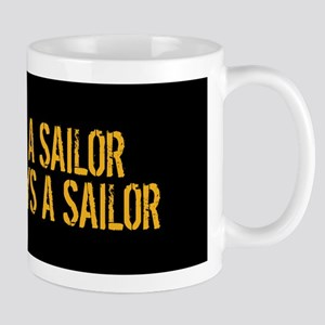 U.S. Navy: Once a Sailor, Always a Sail Mug