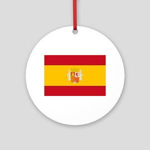 Spanish Republic Flag - Bandera de Round Ornament