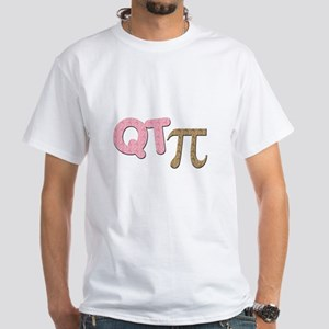 QT Pi - Girl White T-Shirt
