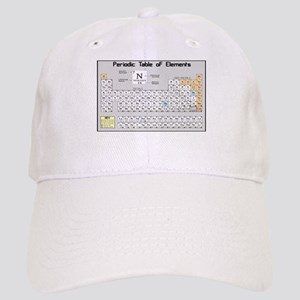 Periodic Table of Elements Baseball Cap