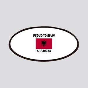 Proud To Be Albanian Patch