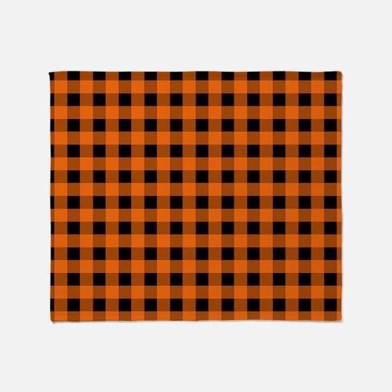 Cute Squares Throw Blanket