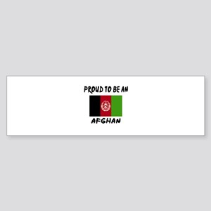 Proud To Be Afghan Sticker (Bumper)