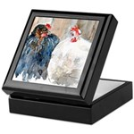 chickens #1 Keepsake Box
