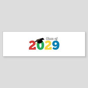 Class of 2029 Bumper Sticker