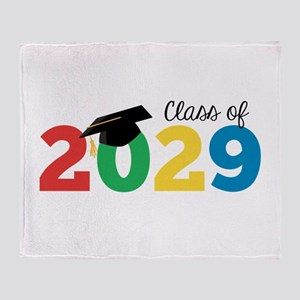 Class of 2029 Throw Blanket