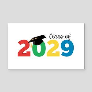Class of 2029 Rectangle Car Magnet