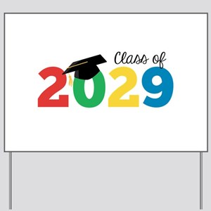 Class of 2029 Yard Sign