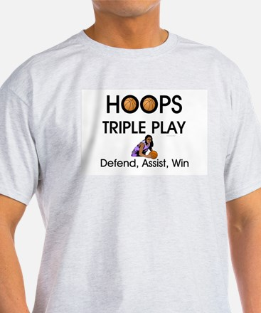 TOP Hoops Slogan T-Shirt