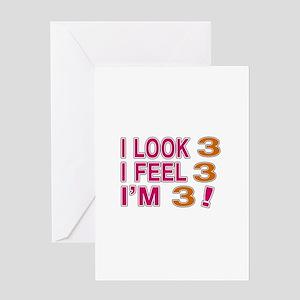I Look 03 Greeting Card