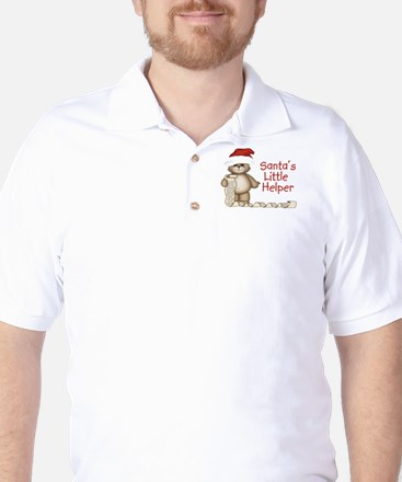 Santa's Little Helper Golf Shirt