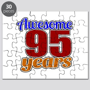 Awesome 95 Years Birthday Puzzle
