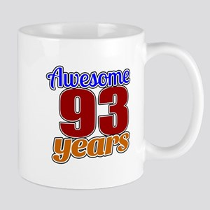 Awesome 93 Years Birthday Mug