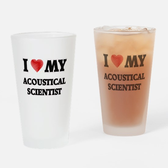 I love my Acoustical Scientist Drinking Glass