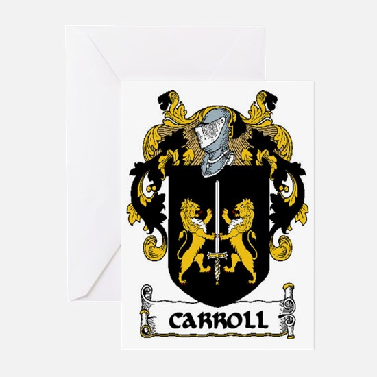 Carroll Coat of Arms Greeting Cards (Pk of 20)