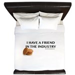 I have a friend in the industry King Duvet