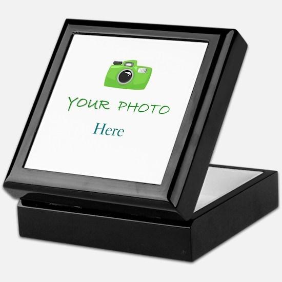 Personalized - Your Photo * Keepsake Box