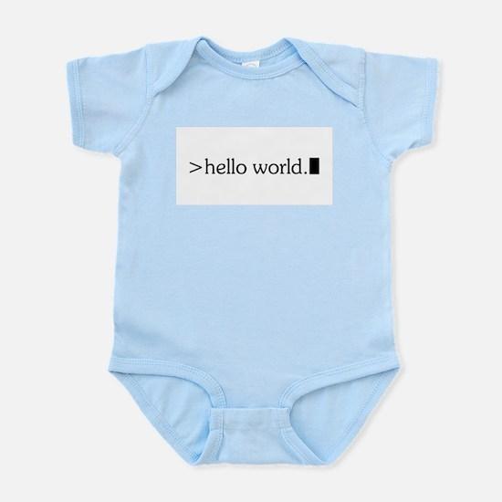 Hello World Body Suit