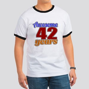 Awesome 46 Years Birthday Ringer T