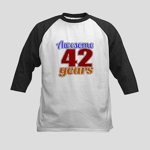Awesome 46 Years Birthday Kids Baseball Jersey