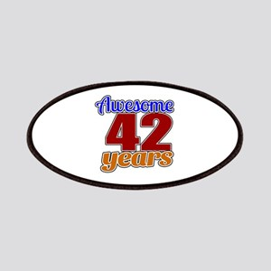 Awesome 46 Years Birthday Patch