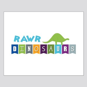 Dinosaurs Rawr Posters