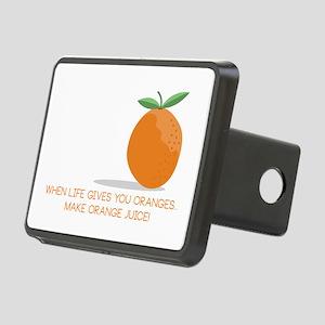 Orange Juice Hitch Cover