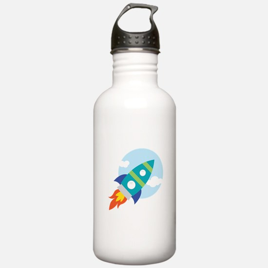 Spaceship Water Bottle