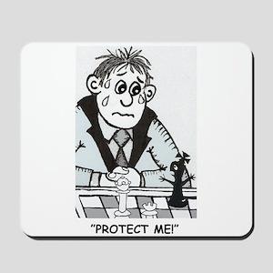 Protect the King Mousepad