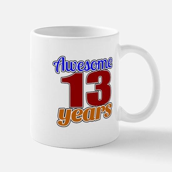 Awesome 13 Years Birthday Mug