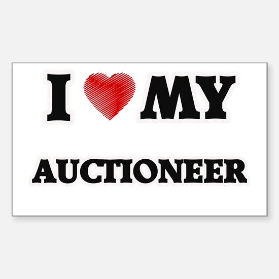 I love my Auctioneer Decal