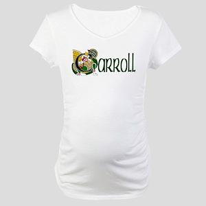 Carroll Celtic Dragon Maternity T-Shirt