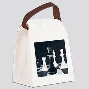 Master Chess Piece Canvas Lunch Bag