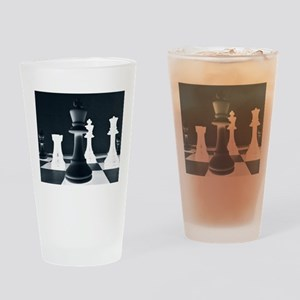 Master Chess Piece Drinking Glass