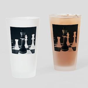 Master Chess Piece Drinking Glass