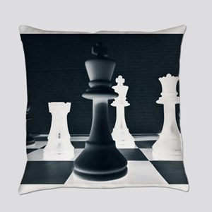 Master Chess Piece Everyday Pillow