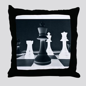 Master Chess Piece Throw Pillow