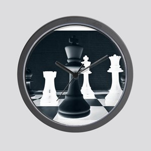 Master Chess Piece Wall Clock