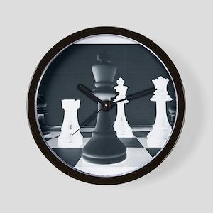 Master Chess Piece Wall Clock