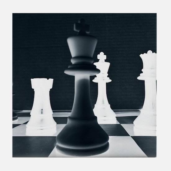Master Chess Piece Tile Coaster