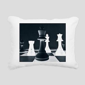 Master Chess Piece Rectangular Canvas Pillow