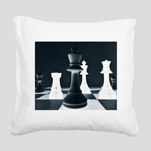 Master Chess Piece Square Canvas Pillow