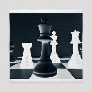 Master Chess Piece Queen Duvet