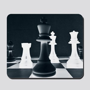 Master Chess Piece Mousepad