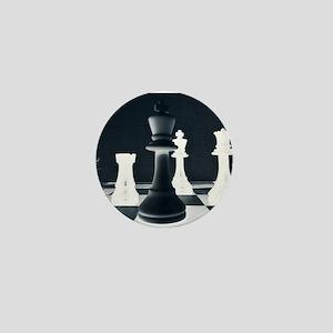 Master Chess Piece Mini Button