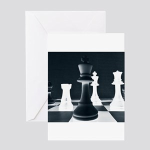 Master Chess Piece Greeting Cards